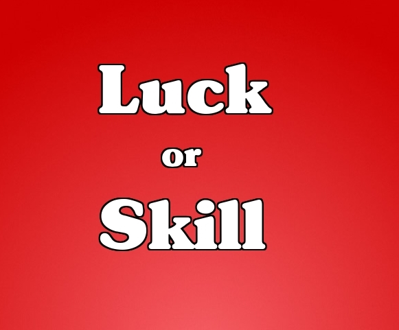 Casino games: skill or luck?